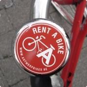 bel met de fietsbel